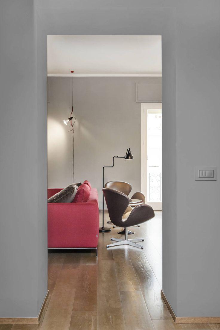 Un appartamento minimalista nel cuore di Roma. https://www.homify.it/librodelleidee/557545/un-appartamento-minimalista-nel-cuore-di-roma