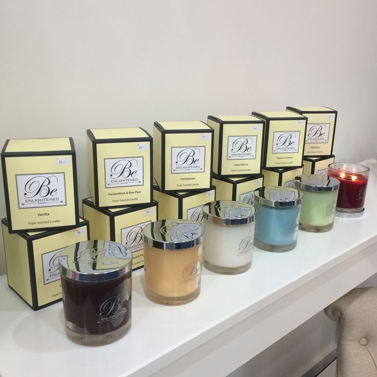 The new Be Enlightened Triple Scent Candles are now in stock! Make your home smell delicious, warm and welcoming. #thecrystalslipper #candles #beenlightend #triplescent