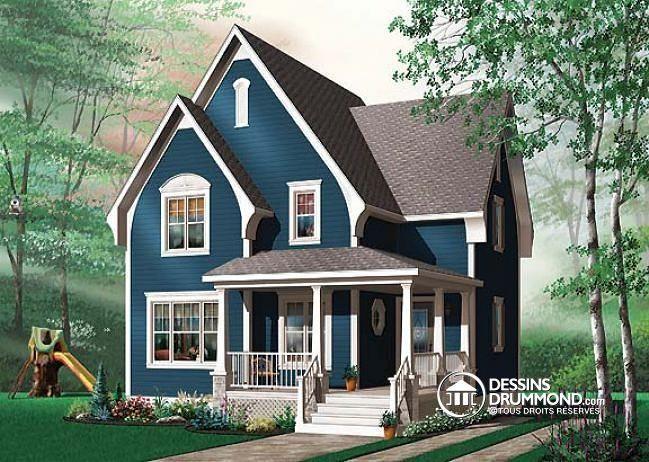 Plan de maison no. W3503 de dessinsdrummond.com