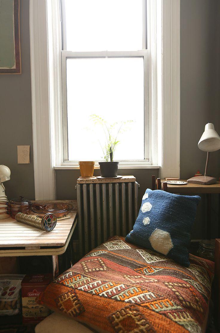 A Textile Designer's Eclectic Work-Live Apartment in Queens, NY   Design*Sponge