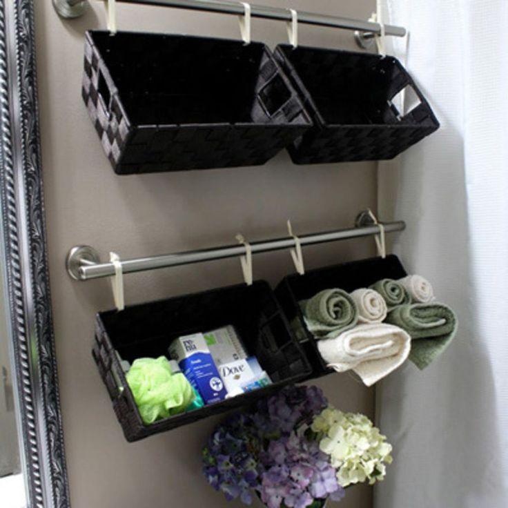 Elegant 15 Kreative Ideen Dein Badezimmer Zu Organisieren!   DIY Bastelideen