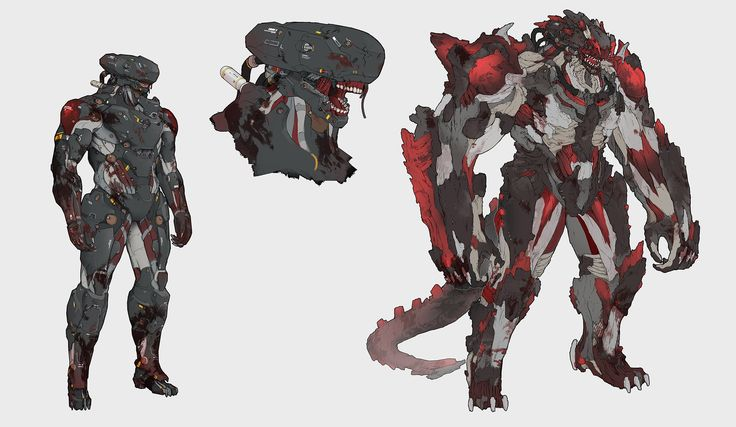 人造人D-005 - 恶势力(Artificial man D-005 Demon Force) by Heng Z