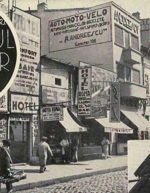Bucuresti, Calea Grivitei, 1938
