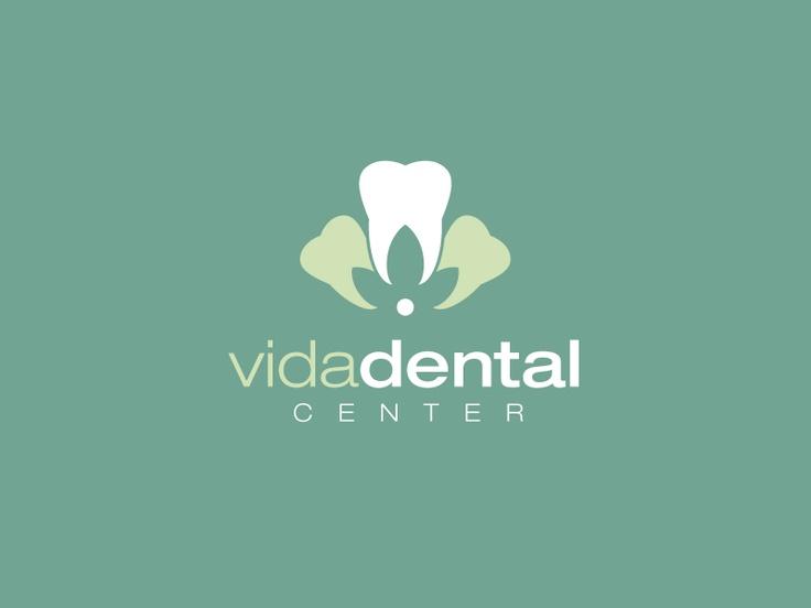 Logo designed for Vida Dental Center.