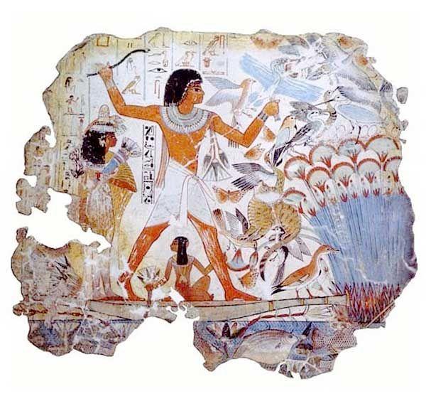 Египтянам известно множество развлечений. Их дети всегда находят время для игр. Они играют в игру под названием «поймай козленка»: дети садятся на землю лицом друг к другу и вытягивают руки и ноги. ...