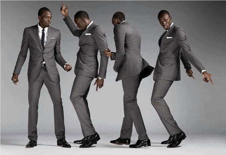 usain bot photo shoot   Usain Bolt, Next Top Model?