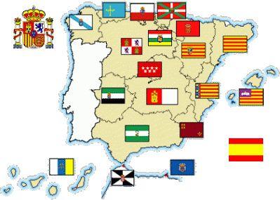 Ms de 25 ideas increbles sobre Banderas comunidades autonomas en