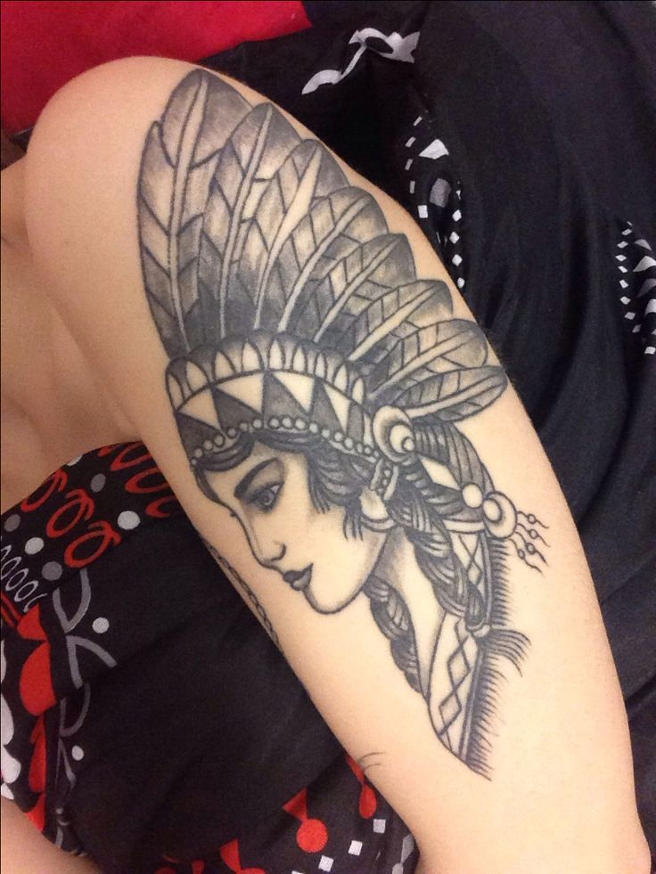 native american tattoo on my left arm this is my second tattoo and represents me being. Black Bedroom Furniture Sets. Home Design Ideas