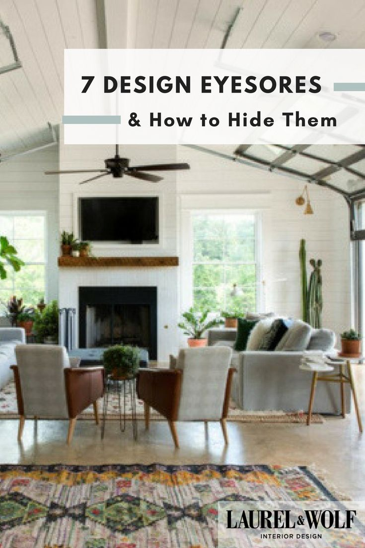 Your home for vacation amp prosperity - 7 Design Eyesores And How To Hide Them