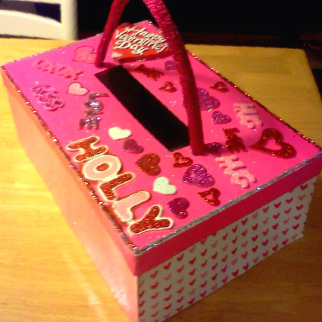 Schön We Made This Valentineu0027s Day Box For My Little Sisteru0027s Valentine Exchange  At School.