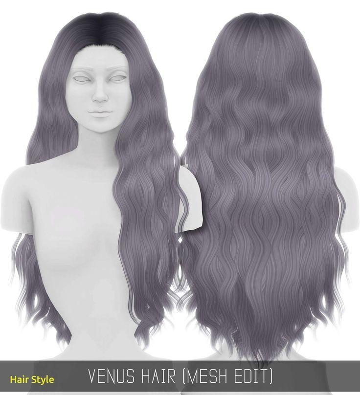 Inspirierende Sims 4 Haare weiblich
