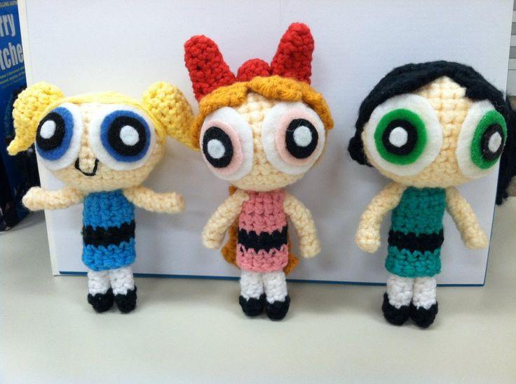 Powerpuff Girls Crochet Pinterest Chun li, Art and ...