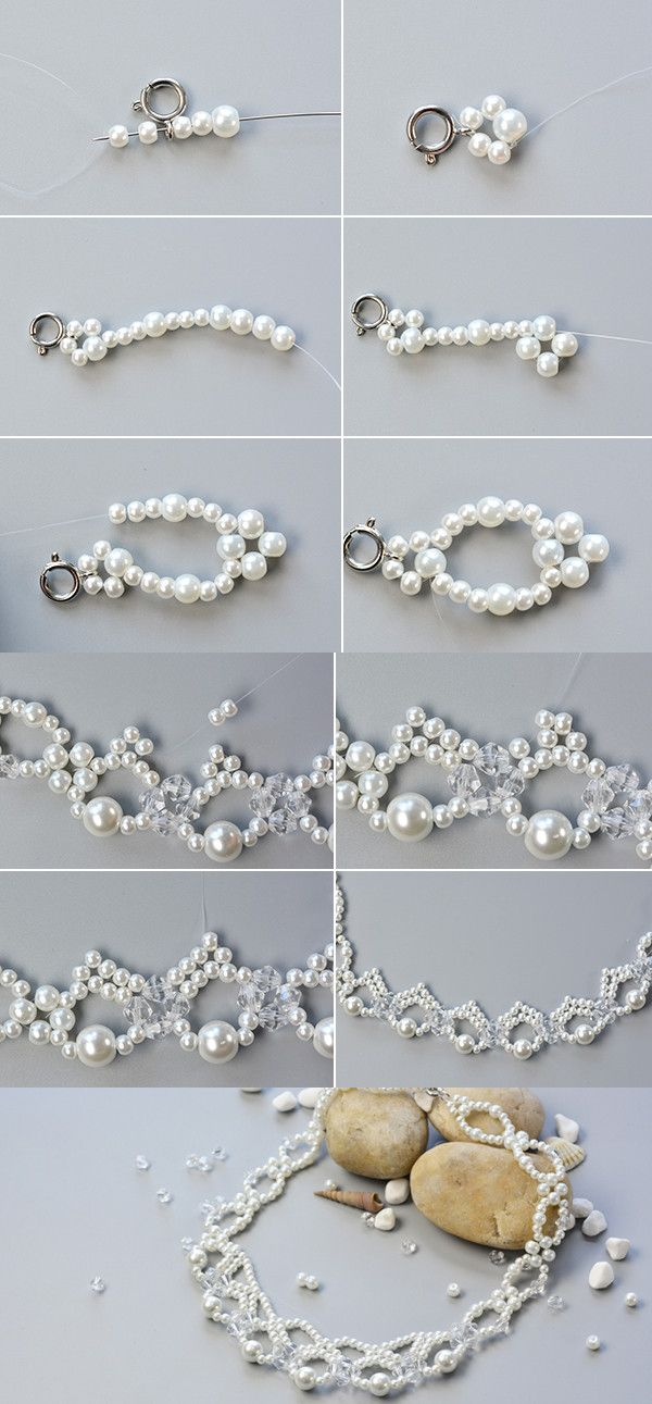 Like this pearl beads necklace? LC.Pandahall.com will release the tutorial soon.
