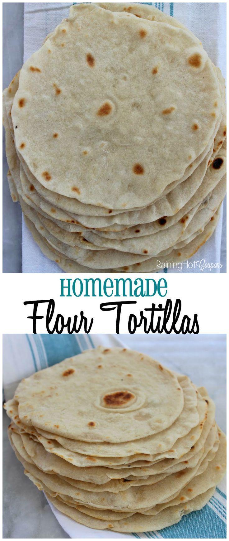 Homemade Flour Tortillas - Raining Hot Coupons