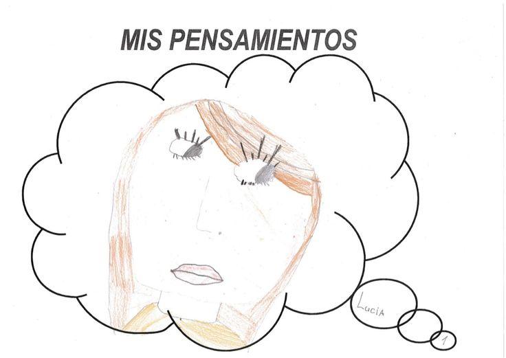 Lucia.  Auto-Descripción. 3r B CURS 2014-15 by Pilar Garcia Mor via slideshare