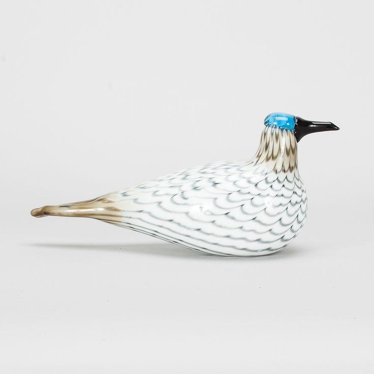 ** Oiva Toikka, Iittala, Nuutajärvi, Finland. Glass Bird.
