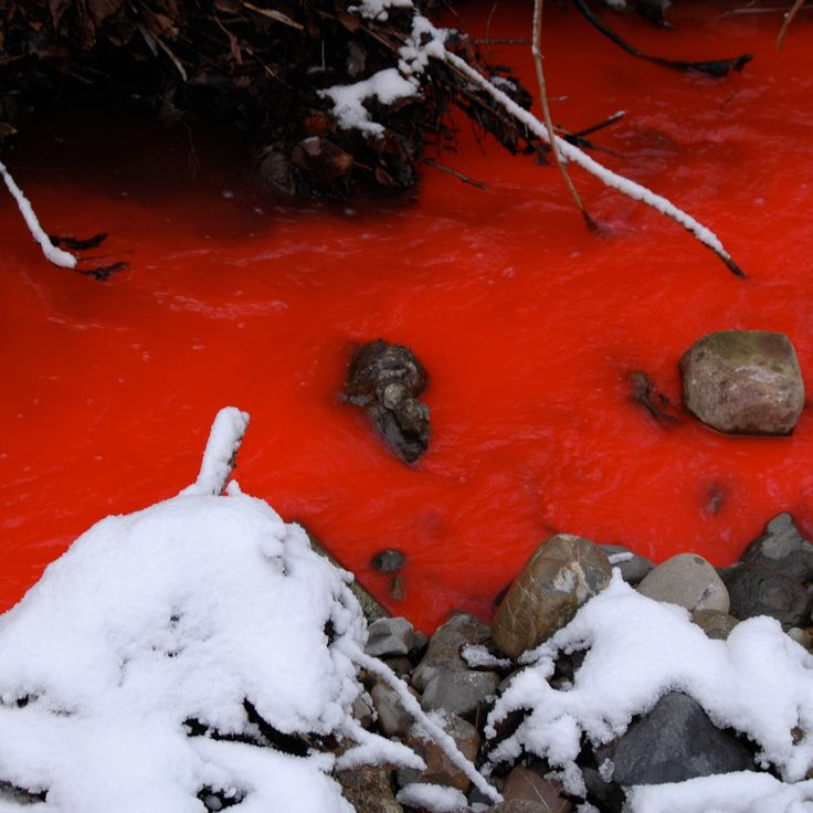 Red Water flows