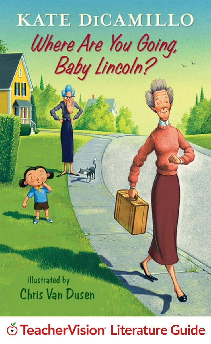 "Where are You Going, Baby Lincoln? Teaching Guide: This teaching guide for ""Where Are You Going, Baby Lincoln?"" includes discussion questions, vocabulary builders, and standards-aligned Language Arts activities that can be used either in class or assigned as independent practice. (Grades 1-4)"