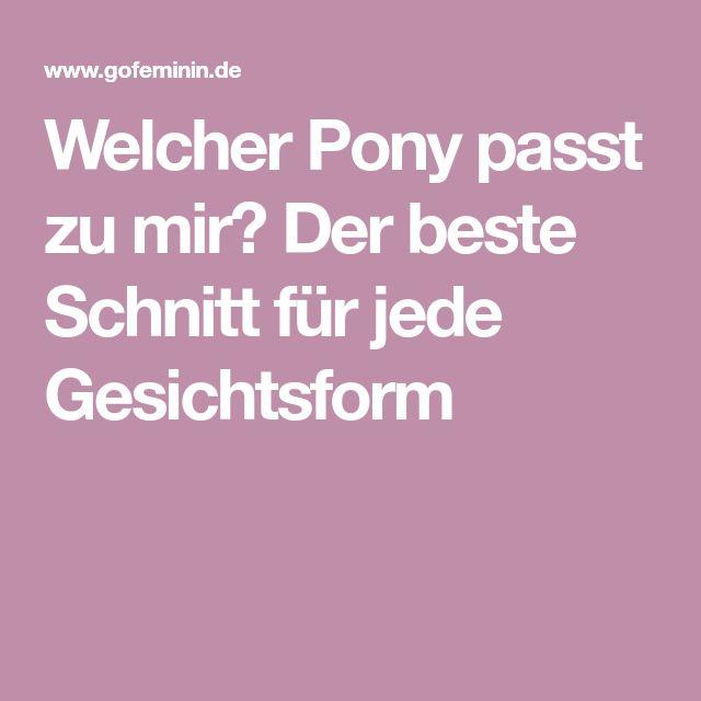 Welcher Pony passt zu mir? Der beste Schnitt für jede Gesichtsform