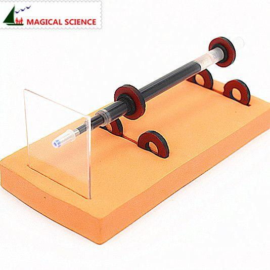 MÁGICO CIENCIA Física experimento casero Levitación Magnética pluma DIY materiales, escuela hogar kit educativo para estudiantes de los cabritos