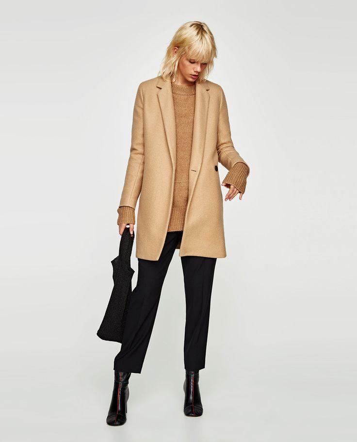 ZARA - WOMAN - SOFT-FEEL DOUBLE-BREASTED COAT