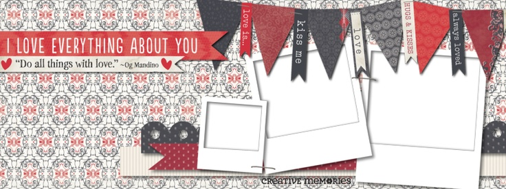Free downloadable Facebook Timeline Image from Creative Memories. Customize with your own photos.