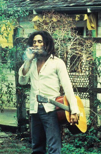 Bob Marley so cool I pinned him twice !