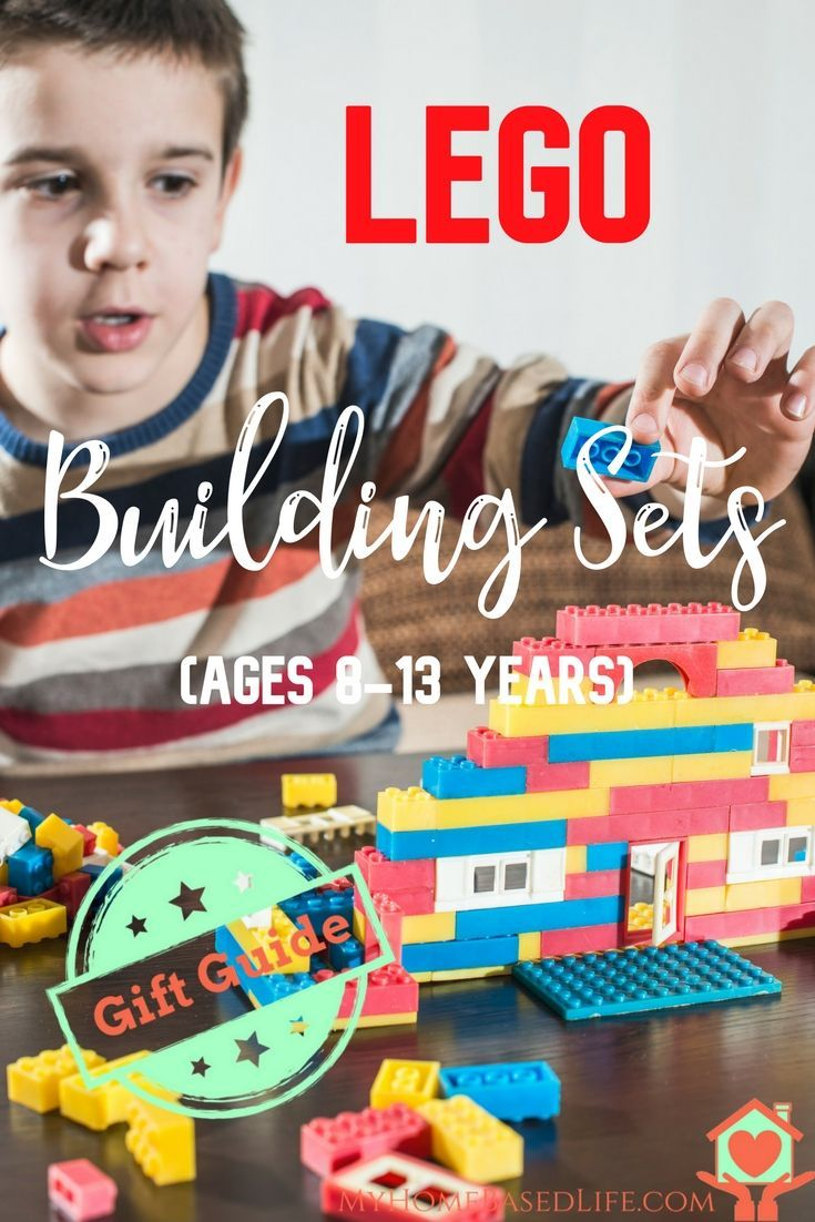 Lego Building Sets Gift Guide For Ages 8-13 | #giftguide | #lego | Lego |  via @myhomebasedlife