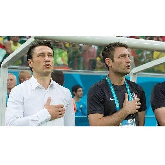 Niko Kovac and Robert Kovac