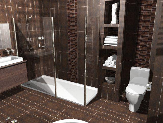 Dark Brown Bathroom: 26 Best Images About Bathroom Design Ideas On Pinterest