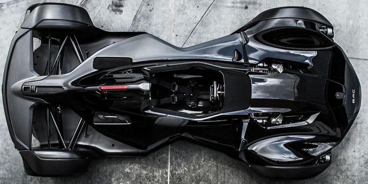 De single-seater is een Formule 1-stijl superauto.