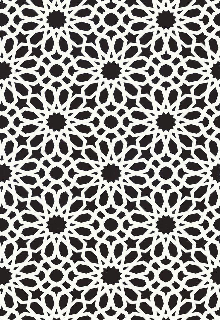 Agadir Screen in Noir, 5006642. http://www.fschumacher.com/search/ProductDetail.aspx?sku=5006642 #Schumacher