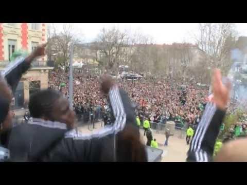 FOOTBALL -  Le cri de joie avec le peuple vert - http://lefootball.fr/le-cri-de-joie-avec-le-peuple-vert/