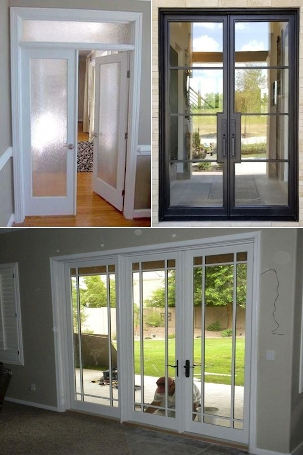 Frosted Glass French Doors Garden Doors 10 Panel French Door 2020