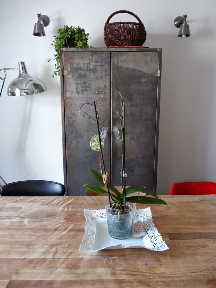 Les 25 meilleures id es concernant armoire m tallique sur pinterest patine - Relooker une armoire ikea ...