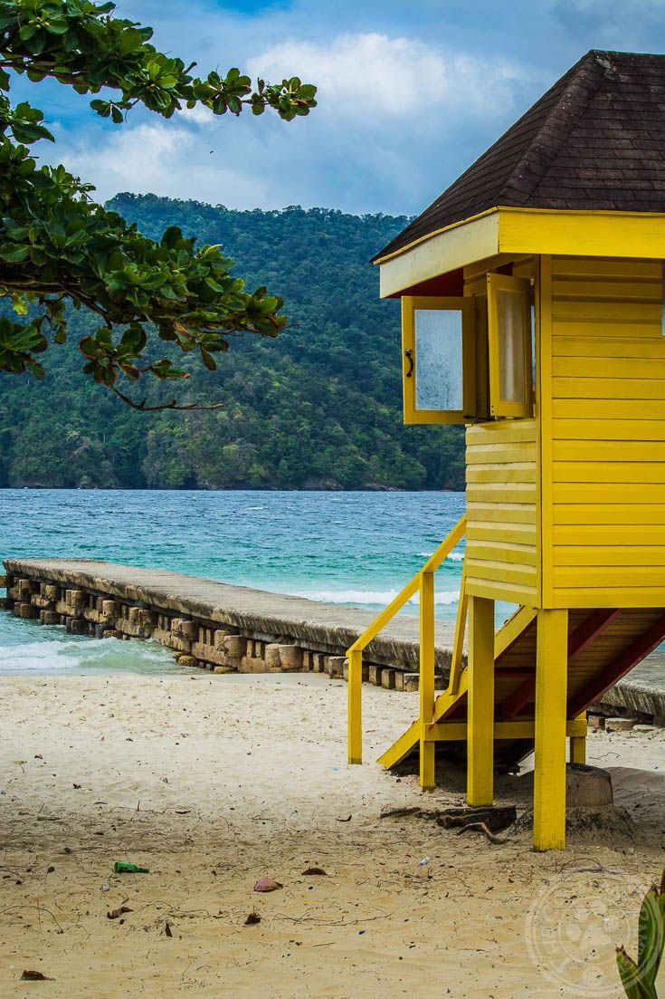 Maracas Beach in Trinidad is a fantastic beach to relax on. Plus you can get a local treat, Bake n' Shark, right around the corner :-)