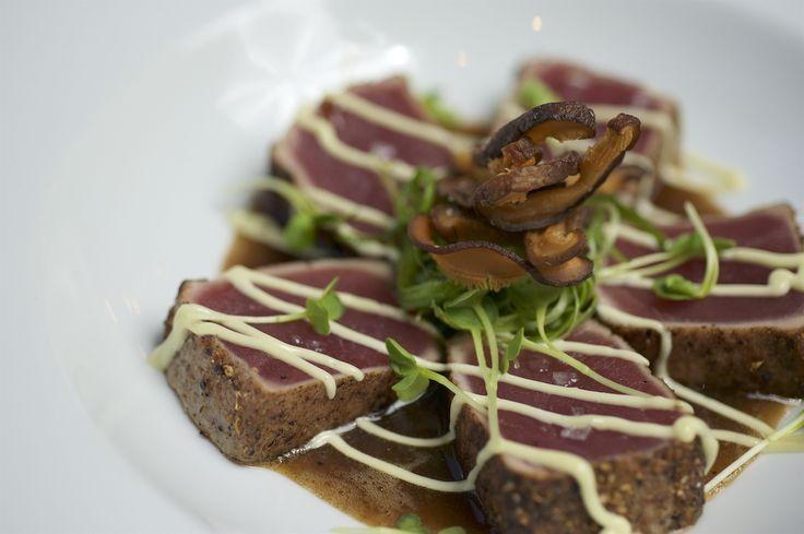 shiitake coriander i am chief forward seared yellowfin tuna coriander ...