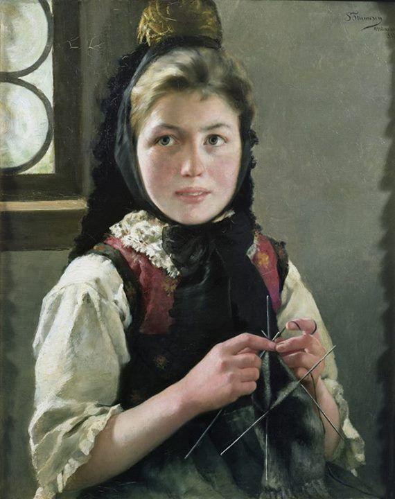 Sofie Thomesen Werenskiold   1849 - 1926