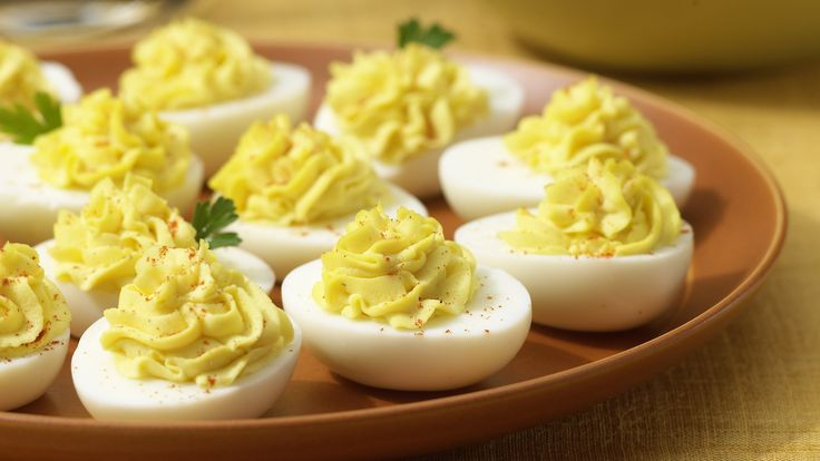 Try our classic deviled eggs with relish recipe for your next party. Your guests will never leave after trying these tasty deviled eggs with relish! Yum!