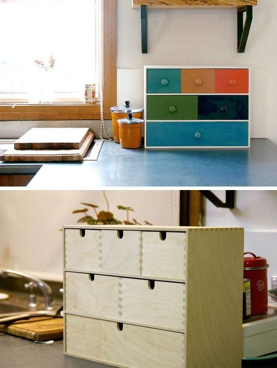 upcycle ikea base into tea storage click pic for 20 diy kitchen storage ideas for small spaces on kitchen organization diy id=33751