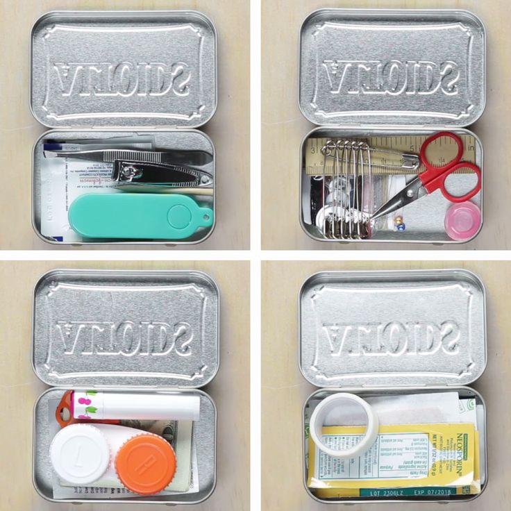 4 Ways To Repurpose Mint Tins
