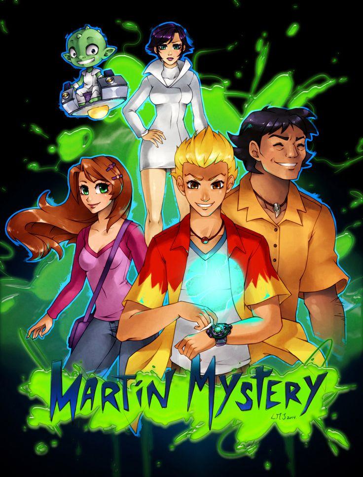 Martin Mystery by KatiraMoon.deviantart.com on @DeviantArt