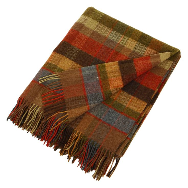 want! Avoca Lambswool Throw - WR94