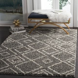 Shop for Safavieh Arizona Shag Southwestern Brown / Ivory Rug (7' x 10'). Get free shipping at Overstock.com - Your Online Home Decor Outlet Store! Get 5% in rewards with Club O! - 19446464