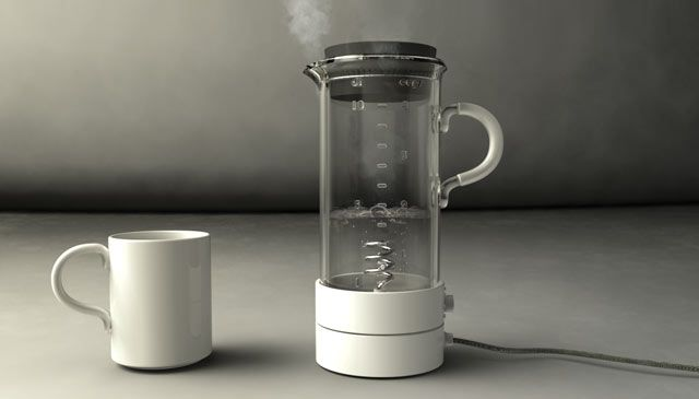 Water Kettle. Invented & Designed by People People in Stockholm