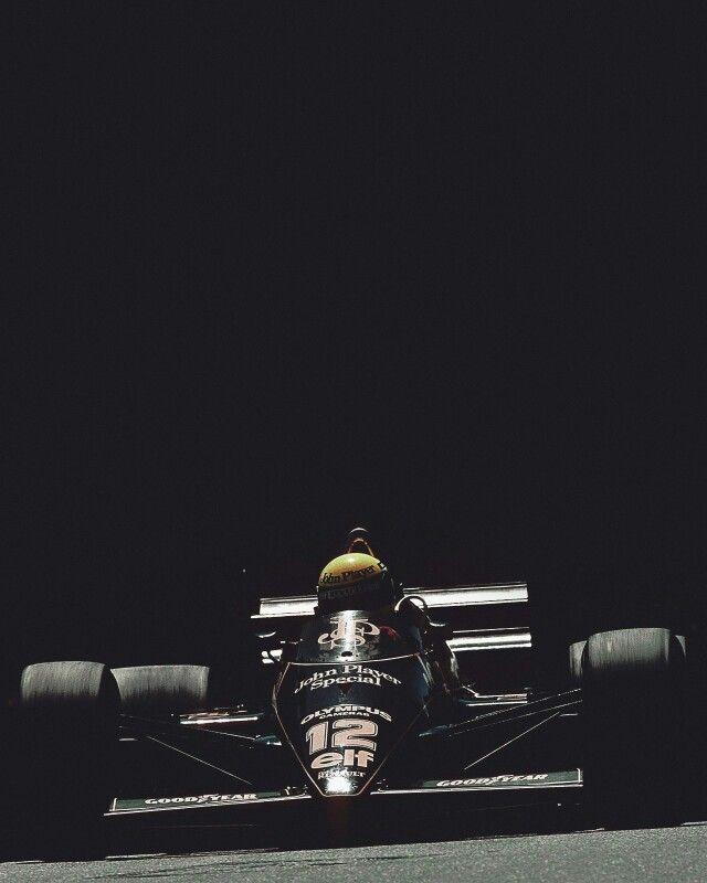 Ayrton Senna # Lotus