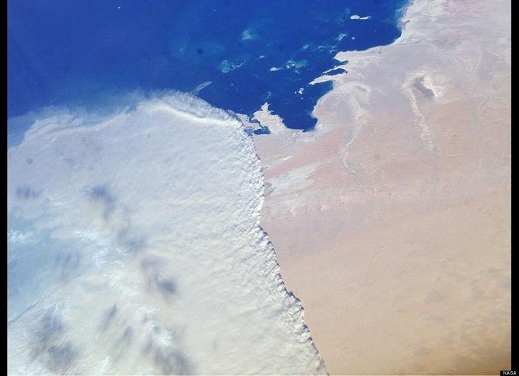 Massive sandstorm, #Qatar - #Photography