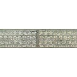 Κορδέλα Δαντέλα Συνθετικη 150mm (15cm)