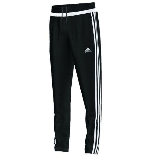 adidas Tiro 15 Youth Pants (Black/White)