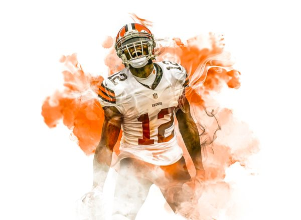 Josh Gordon by Chris Modarelli, via Behance